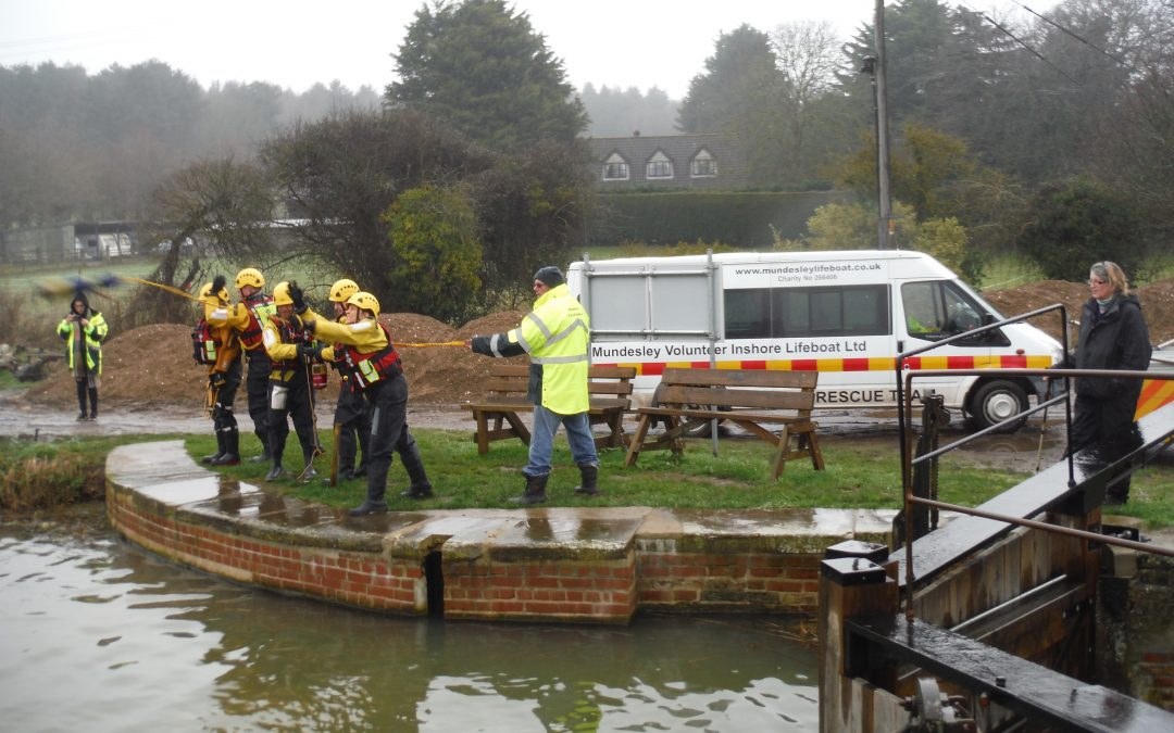 Water Rescue Training Excercise