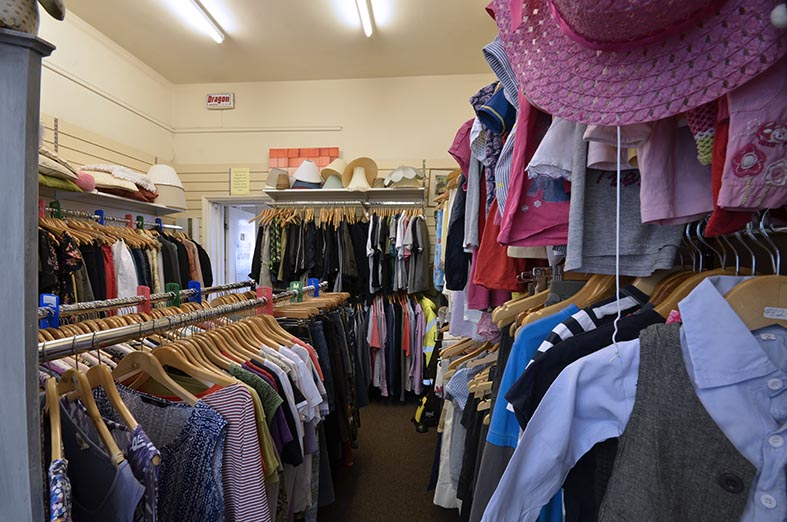 Charity Shop Re-opening